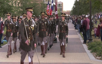 A&M Corps of Cadets celebrates Military Appreciation Day