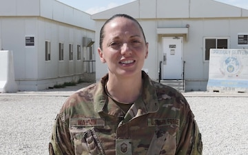 SMSgt Elizabeth Walton - Holiday Shout Out