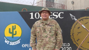 CPT Mark Fritsche, Tomah, WI, Holiday Greeting