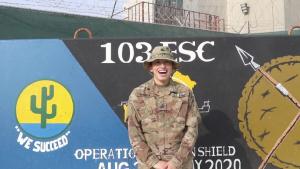 Sgt Kimberly Huerta Thanksgiving Greetings