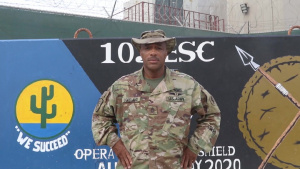 SFC Tommy Copeland, Des Moines Holiday Greeting