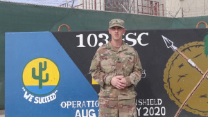 SPC Bret Nyquest, Des Moines, IA Thanksgiving Greeting