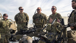 SecAF, CSAF visit Bagram to thank Airmen