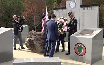Fort Benning Honors Georgian Soldiers