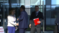 Croatian Minister of Foreign Affairs arrival at NATO for Foreign Ministers meeting