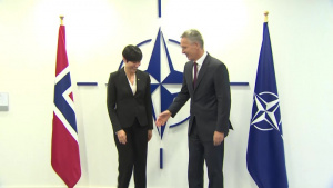 NATO Secretary General bilateral meeting with Norwegian Minister of Foreign Affairs