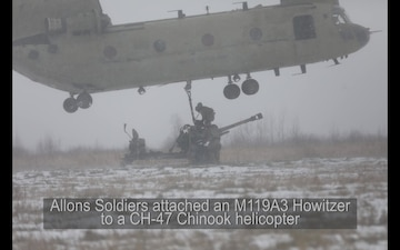 The Flight of the Howitzer