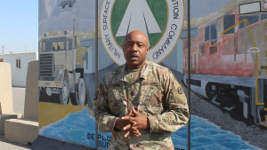 Command Sgt. Maj. Derek Hamm