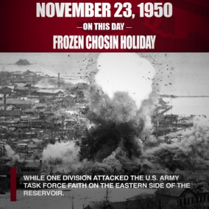 On This Day: Frozen Chosin Holiday