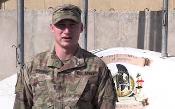 SSG David Conway Holiday Shoutout