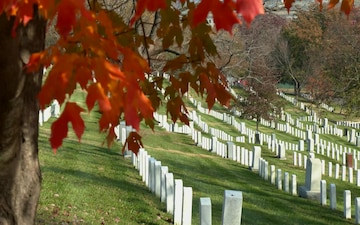 Fall in Arlington National Cemetery 2019 b-roll