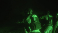 On Target: Special Reaction Team sights-in on night range