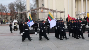 Lithuania Celebrates 101st Armed Forces Day With Joint Forces B-roll