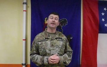 Staff Sgt. Richard Lunger Thanksgiving Greeting