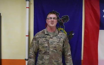 Sgt. Tyler Young Thanksgiving Greeting