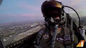 2 F-16s flyover 49ers vs Seahawks NFL Veterans Day Game