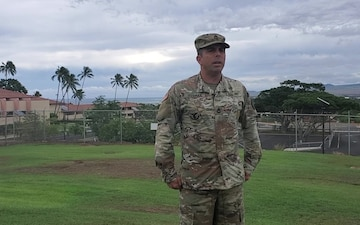 Best Warrior Candidate recites the Soldier's Creed in the Hawaiian Language