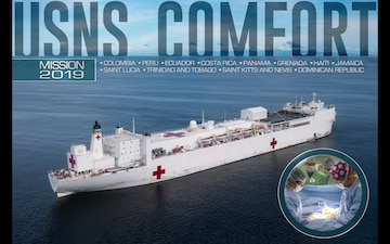 USNS Comfort 2019 Mission (Motion Graphic)