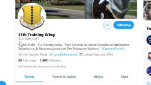 Goodfellow AFB Twitter page