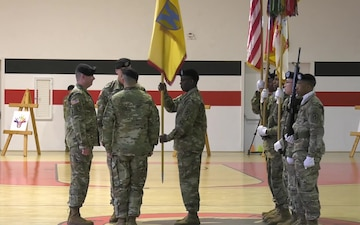 21st Theater Sustainment Command  Change of Responsibility Ceremony