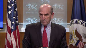 Briefing with Special Representative for Venezuela Elliott Abrams, at the Department of State
