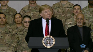 Trump Thanksgiving Visit to Troops in Afghanistan