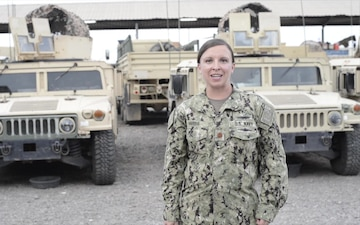 Lt. Cmdr. Anna Harris Holiday Shout Outs