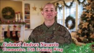 Colonel Nazario Holiday Message