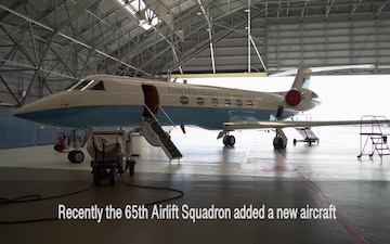 65th Airlift Squadron acquires new jet...