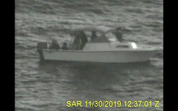 Coast Guard, partner agency rescue 17 people from disable vessel 17 miles east of Juno Beach