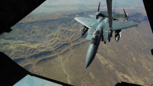 KC-10 Extender Aircrew conducts Aerial refueling
