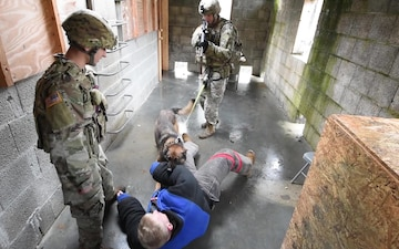 100th MP Military Working Dogs B-Roll
