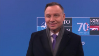 Doorstep statement by Andrzej Duda, President of Poland, upon Arrival at Leaders Meeting