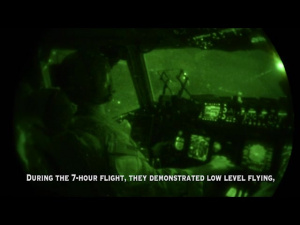 Ops Don't Stop: 437th AW conducts night mission