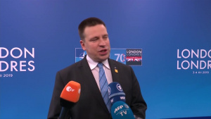 Doorstep statement by Jüri Ratas, Prime Minister of Estonia, upon Arrival at Leaders Meeting