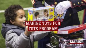 Marine Minute: Marine Toys for Tots Program