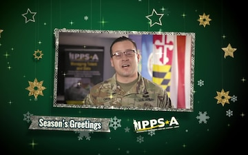 Sergeant First Class Jose Ortiz Holiday Greeting