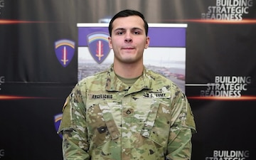 Holiday Greeting - PFC Anthony Angelichio