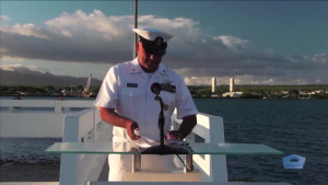 USS Utah Memorial Sunset Ceremony