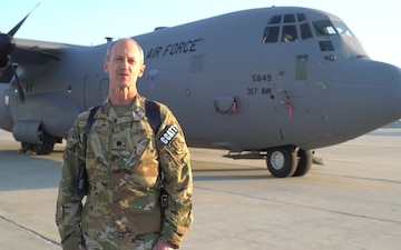 Lt. Col. Patrick Falvey holiday greeting - York, PA, Raleigh and Wilmington, NC