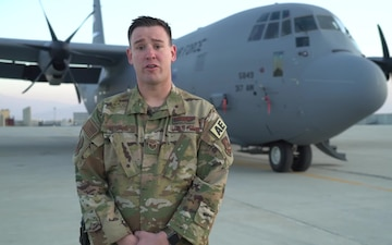 Staff Sgt. Dan Nerdahl holiday greeting - St. Michael, MN