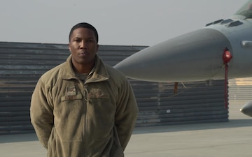 Senior Airman Elliott holiday greeting - Willingboro, NJ