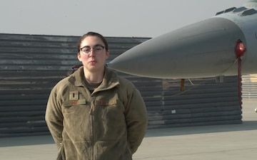 1st Lt. Amanda Smith holiday greeting - O'Fallon, IL