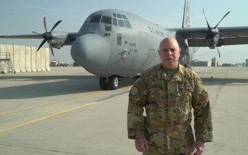 Chief Master Sgt. Mark Harrison holiday greeting - Abilene, TX