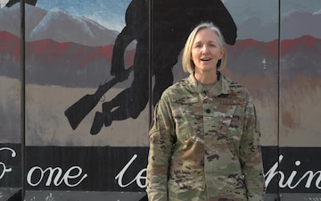 Lt. Col. Kylene Ruth holiday greeting - Air Force Academy