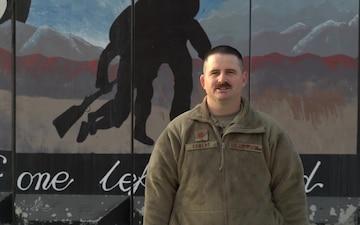 Maj. Troy Egbert holiday greeting - Jerome, ID