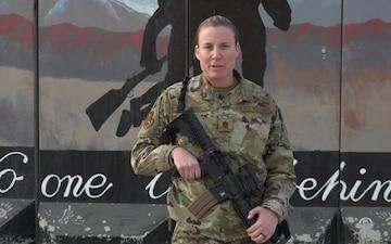 Maj. Megan Ortner holiday greeting - Cincinnati, OH
