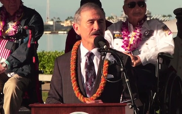 Pearl Harbor: 78th Remembrance Ceremony