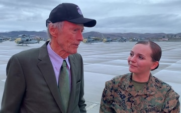 Interview B-Roll: Clint Eastwood visits MCB Camp Pendleton