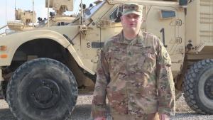 Sgt. Major Jason Palsma Lawton, IA. Holiday Shoutout